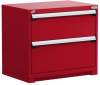 Heavy-Duty Stationary Cabinet (with Compartments), 2 Drawers (36