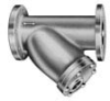 Y-Type Series Strainer -- Model Y-125-CI-F-J