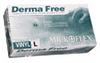 DF850-S - Microflex DermaFree Vinyl Gloves, small, 1000/case -- EW-86232-25