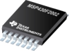 MSP430F2002 16-bit Ultra-Low-Power Microcontroller, 1kB Flash, 128B RAM, 10-Bit SAR A/D, USI for SPI/I2C -- MSP430F2002IPW