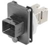 Passive Industrial Ethernet IP67 Plug-In Connector V4 PushPull Sets - RJ45 -- IE-BS-V04P-RJ45-C - Image
