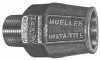 Straight Coupling With Mueller Insta-Tite Connection -- H-15426N