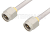 SMA Male to SMA Male Cable 18 Inch Length Using PE-SR402AL Coax -- PE34180-18 -Image