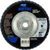 Norton Metal ZA Coarse Arbor Thread Fiberglass Flat Flap Disc -- 66254491775 - Image
