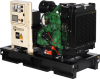 100 kW John Deere Fully Packaged (Open) Generator Set -- 552409