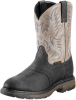 Men's WorkHog Pull-On Composite Toe Boot - Black/Slate -- ARIAT-10009489