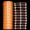 Orange Warning Barrier Fence -- 14993