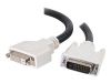 C2G DVI-D M/F VIDEO CABLE DUAL 2M -- 26950