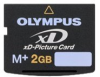 Olympus flash memory card - 2 GB - xD Type M+ -- 202332 - Image