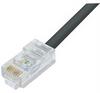 Cat6 Outdoor Patch Cable, RJ45/RJ45, Black, 3.0 ft -- TRD695OD-3 -Image