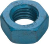 Hex Nut,Full,Metric Blue,M16x2,24mm,Pk10 -- 5YMV9