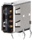 Horizontal USB A Modular Jack -- AJT24g4413-001 - Image