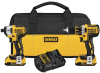 20V MAX* XR Lithium Ion Brushless Compact Drill / Driver & Impact Driver Combo Kit -- DCK281D2