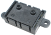 Honeywell Zephyr™ Analog Airflow Sensors: HAF Series-High Accuracy, bidirectional flow, short port, fastener mount, 0 SCCM to 200 SCCM flow range, 5.0 Vdc supply voltage -- HAFBSF0200CAAX3