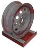 Blast Cabinet Wheel Roller,10x14 In -- 4NFU5