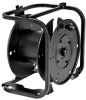 Portable Cable Storage Reel with Slotted Divider Discs