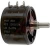 Pot;Wirewound;Rest 10 Kilohms;Panel;3 Turns;Pwr-Rtg 3W;Shaft Dia 0.2497in -- 70219102