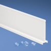 Wiring Duct Solid Divider White PPO -- 07498342205-1