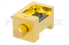 Waveguide Down Converter Mixer WR-15 From 50 GHz to 75 GHz, IF From DC to 18 GHz And LO Power of +13 dBm, UG-385/U Flange, V Band -- PE12D1002 -Image