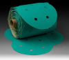 3M(TM) Stikit(TM) Paper Dust Free Disc Roll 246U, 5 in x NH Die# 500FH 5 Holes 80 D weight, 100 discs per roll 10 rolls per case -- 051131-01561