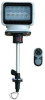 Golight LED Spotlight on Stanchion Mount - Wireless Remote - Navigational Lights - 900' Spot Beam