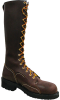 """Thorogood Lineman's Boot, 16"""", Composite Safety Toe, Brown -- 804-4254 -- View Larger Image"""