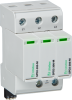 Surge Protection Devices -- SPD2 3P+0 Series - Class II/Type 2/Type 1 CA Pluggable Multi-Pole -Image