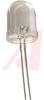 LED; Green; 2000 mcd (Typ.); 10 mm; T-3; 30 mA; 2.1 V (Typ.); 4 V; 125 mW -- 70079160