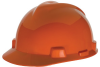 MSA V-Gard® Cap, Orange, Slotted, Staz-On® -- 463945 -- View Larger Image
