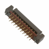 Rectangular Connectors - Arrays, Edge Type, Mezzanine (Board to Board) -- P50L-040S-D-DA-ND