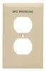 Standard Wall Plate -- TP8-GFI