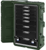 Pelican Roto-Molded 8 Drawer Case - Olive Drab -- PEL-472-MEDCHEST3-8D-137 -Image