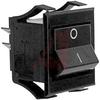 Switch, Rocker, DPST,ON-OFF -- 70128621 - Image