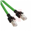 System Cable CAT5 green PUR length 0.5 meters -- 70104017