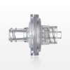 Transducer Protector, Hydrophobic, Female Luer Lock Inlet, Male Luer Lock Outlet -- 32111 -Image