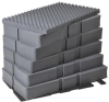 Pelican 0501 7pc Replacement Foam Set for 0500 Transport Case -- PEL-0500-400-000 -Image