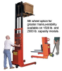 BATTERY POWERED PALLET STRADDLE & PLATFORM STACKERS -- HPASFL-64-42-3550S-1.5K