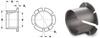 Bevel Edged Clip Bearing (metric) -- S99GMYM040504 - Image