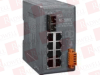 ICP DAS USA NS-209FC ( UNMANAGED 8 PORT INDUSTRIAL 10/100 BASE-T TO 100 BASE-FX FIBER CONVERTER, SC CONNECTOR ) -Image