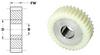 Composite Spur Gears (inch) -- S12C8Z-032PC080 -Image