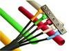 ALPHA WIRE - FIT-105-1/4 BK005 - HEAT-SHRINK TUBING, 0.25IN/6.35MM ID, PVC, BLK -- 1018746