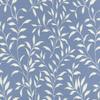 Small Vine Leaf Matelasse Fabric -- R-Betsy - Image