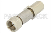 10 dB Fixed Attenuator, 75 Ohm F Male To 75 Ohm F Female Brass Nickel Body Rated To 2 Watts -- PE7057-10