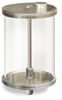 "(Formerly YB3186-19), Oil Reservoir with Filter, 1/2 gal Pyrex, 1/2"" Male NPT -- B966-0644PB2W -- View Larger Image"