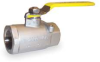 Ball Valve,2 PC,1/2 In NPT,SS,2000 PSI -- 1CKR8