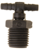 Swivel Tee Fitting (1/4-18 NPT) -- F-3355-80 - Image