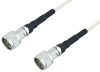 Quick Lock N Male to Quick Lock N Male Low Frequency Low Loss Cable 200 cm Length Using PE-SF200LL Coax, RoHS -- PE3TC1102-200CM -Image