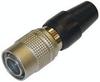 Hirose 6 Pin Cable Plug (m) With Push/Pull Locking Mech. -- CV-HR10A7P6P