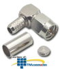MISC Right Angle F-Type Coaxial Connector (Package of 6 ) -- RFF-7763 - Image