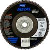 Norton Metal ZA Coarse Arbor Thread Fiberglass Conical Flap Disc -- 66254491781 - Image